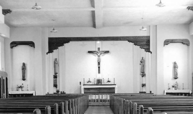 Crucifix and Four Saints